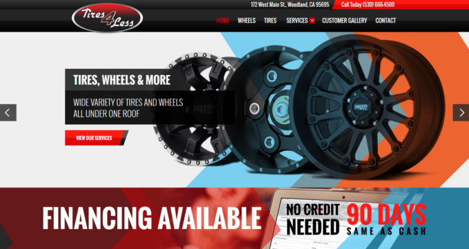 Tires4LessWoodland.com